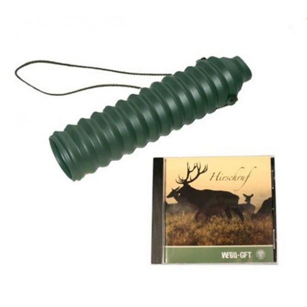 Rog za oponašanje jelenjega ruka s CD-jem, zelena guma