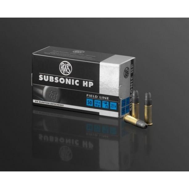 Naboj RWS .22lr Subsonic