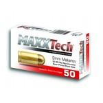 Naboj Maxxtech 9x19 115 gr. FMJ, Brass