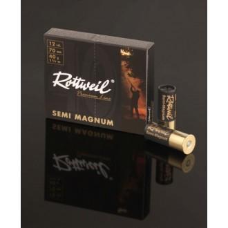Naboj Rottweil semi magnum 12/70, 4.0mm