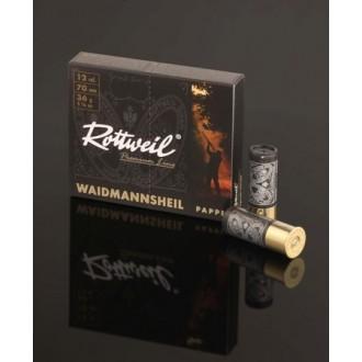 Naboj Rottweil Waidmannsheil 12/70, 3.7mm