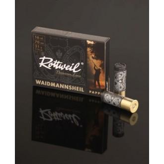 Naboj Rottweil Waidmannsheil HV 16/70, 4.0mm