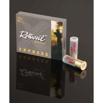Naboj Rottweil Express 12/67.5, 6.2mm