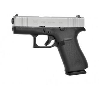 Pištola GLOCK 43X Silver Slide FS