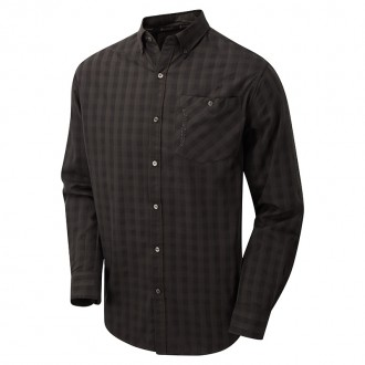Srajca ShooterKing Bamboo Casual Shirt Brown