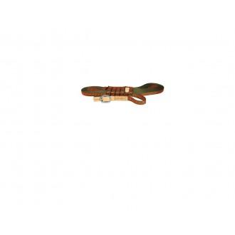 Sledni jermen za krvosledca Niggeloh, oranžen, 20mm, 12m