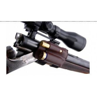 Usnjen nabojnik za na cev kombinirane puške