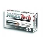 Naboj Maxxtech 9x19 115 gr. FMJ, Steel