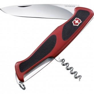 Nož Victorinox RangerGrip 52, 0.9523.C Red/Black