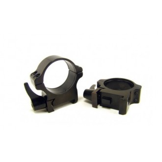 Rusan Weaver Rings 30mm, Quick-release