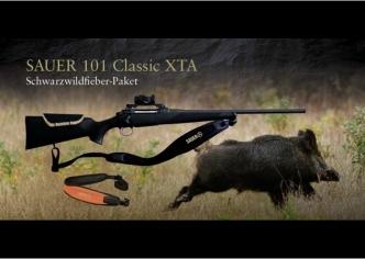 Wild boar fever paket! Sauer 101 Classic XTC + Aimpoint Micro H2 po posebni ceni!